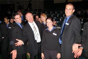 Colin Pearce audience members
