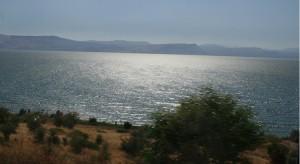 Colin Pearce in Galilee, Israel